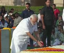 Gandhi Jayanti: PM Modi pays floral tribute to 'Father of Nation'