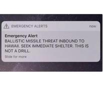 Panic abounds as false missile alert unnerves Hawaii residents, tourists