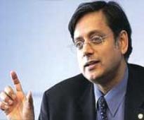 Tharoor plunges into sanitation drive, invokes Gandhi to silence critics