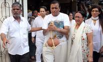 Funeral of Bollywood actress Nanda