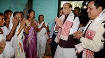 Assam Floods: Didn't imagine that the situation is so grave, says Rajnath Singh