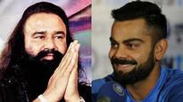 WATCH: Ahead of rape verdict, video of Virat Kohli taking Gurmeet Ram Rahim's blessings goes viral