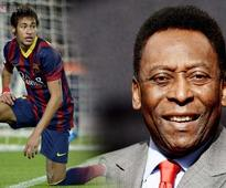 Neymar can handle World Cup pressure, says Pele