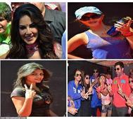 PHOTOS: Sexy siren Sunny Leone, Rakhi Sawant and many glamorous celebs at Holi party