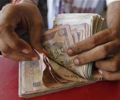 Rupee slips 13 paise vs USD, breaches 64-mark