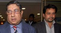 N Srinivasan withdraws perjury application against Anurag Thakur
