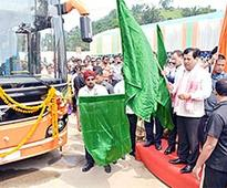 CM lays foundation stone for mini ISBT