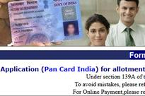 PAN card allotment to remain suspended for 5 days