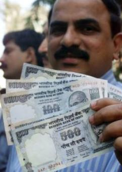Rupee hits seven-month high