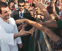 In Pics: Rahul Gandhi's rally in Gujarat