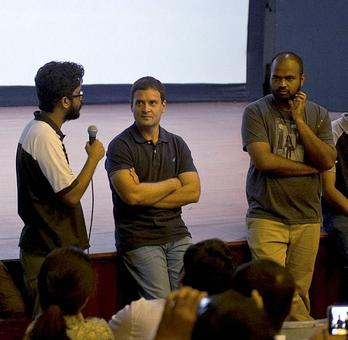 Rahul @ FTII: Let down by the dialogue writer