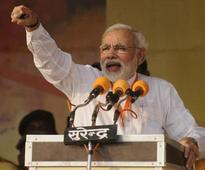 Narendra Modi urges voters to bid adieu to Congress
