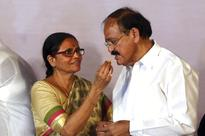 Upbeat, celebratory mood, inside new Vice President Venkaiah Naidu's house