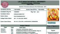 Bihar University: Lord Ganesha 'to write' commerce exam, Ganpati picture on admit card