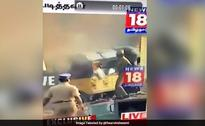 Kamal Haasan, Others Tweet Video Of Cop Setting An Auto On Fire