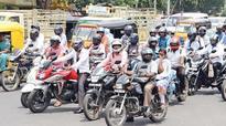 No helmet, no petrol from August 1 in Kerala