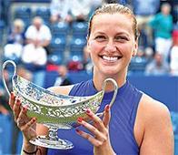 Kvitova eyeing Wimbledon after comeback title