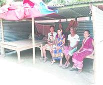 Villagers stare at uncertainty
