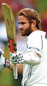 Williamson hits ton in rain-hit Test