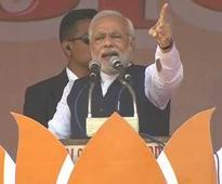 In pics: Narendra Modi's Meerut rally