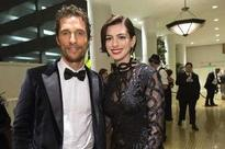 Anne Hathaway's embarrassing night at Matthew McConaughey's house