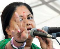 After unifying BJP ranks Raje bulldozes Congress