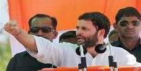 Only Congress can ensure progress, says Rahul