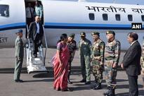 Sitharaman begins two-day J-K visit