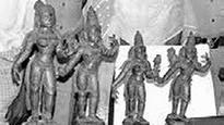 Panchaloha Idols Worth Rs 2 Crore Seized, 1 Held