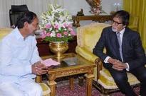 When KCR met Amitabh Bachchan