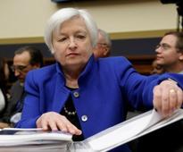 Fed's Yellen sticks to her guns as market rout worsens