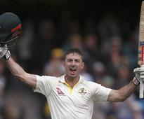 2nd Ashes Test: Marsh ton puts Australia in charge