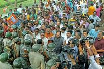 BJP leaders arrested while entering riot hit area in Bengal