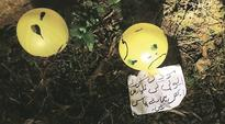 Balloons with message in Urdu found in three Punjab districts