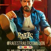 21 million views and 272k likes: Shah Rukh Khan's Raees trailer has broken all records by Aamir and Salman!