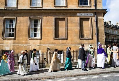 PICS: How fans celebrated Jane Austen's legacy in England
