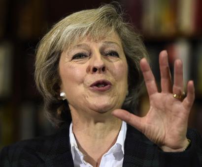 Syria air strikes: UK's Theresa May says action 'moral and legal'