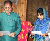 Mehbooba Mufti sworn in as MLA