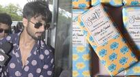 Shahid Kapoor's Chocolate Wedding: Personalised chocolate bars from the couple