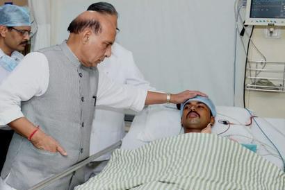 'Unhappy' Rajnath asks CRPF DG to stay put in Chhattisgarh