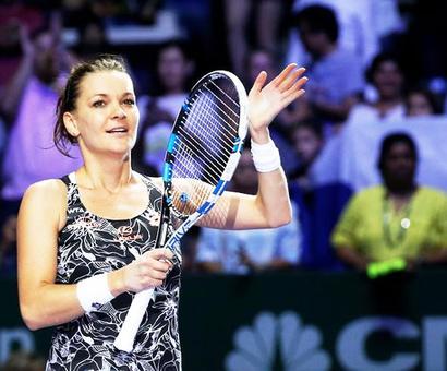Radwanska, Kuznetsova in WTA Tour Finals semis