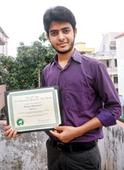 Green project award for teen