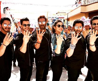 Review: Rohit Shetty's Golmaal Again!!! is a spirited affair!