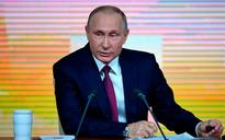 Vladimir Putin says it's 'not my job' to create rivals for his 2018 election bid, as he hosts annual press conference