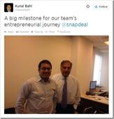 Ratan Tata Invests In Snapdeal, E-Commerce The Next Frontier For Head Honchos Now!