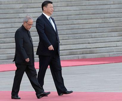 President Pranab wraps up China visit