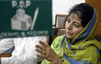 Conducive atmosphere required for talks: Mehbooba