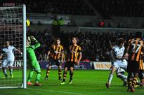 Swansea draw 1-1 with Hull in Premier League