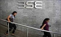 Sensex, Nifty trade with gains, Sensex surges 200 points