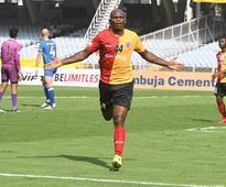 I-League 2017-18: Dudu Omagbemi slams four as East Bengal romp Chennai City 7-1